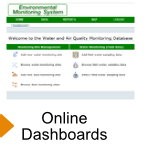 Online Dashboards